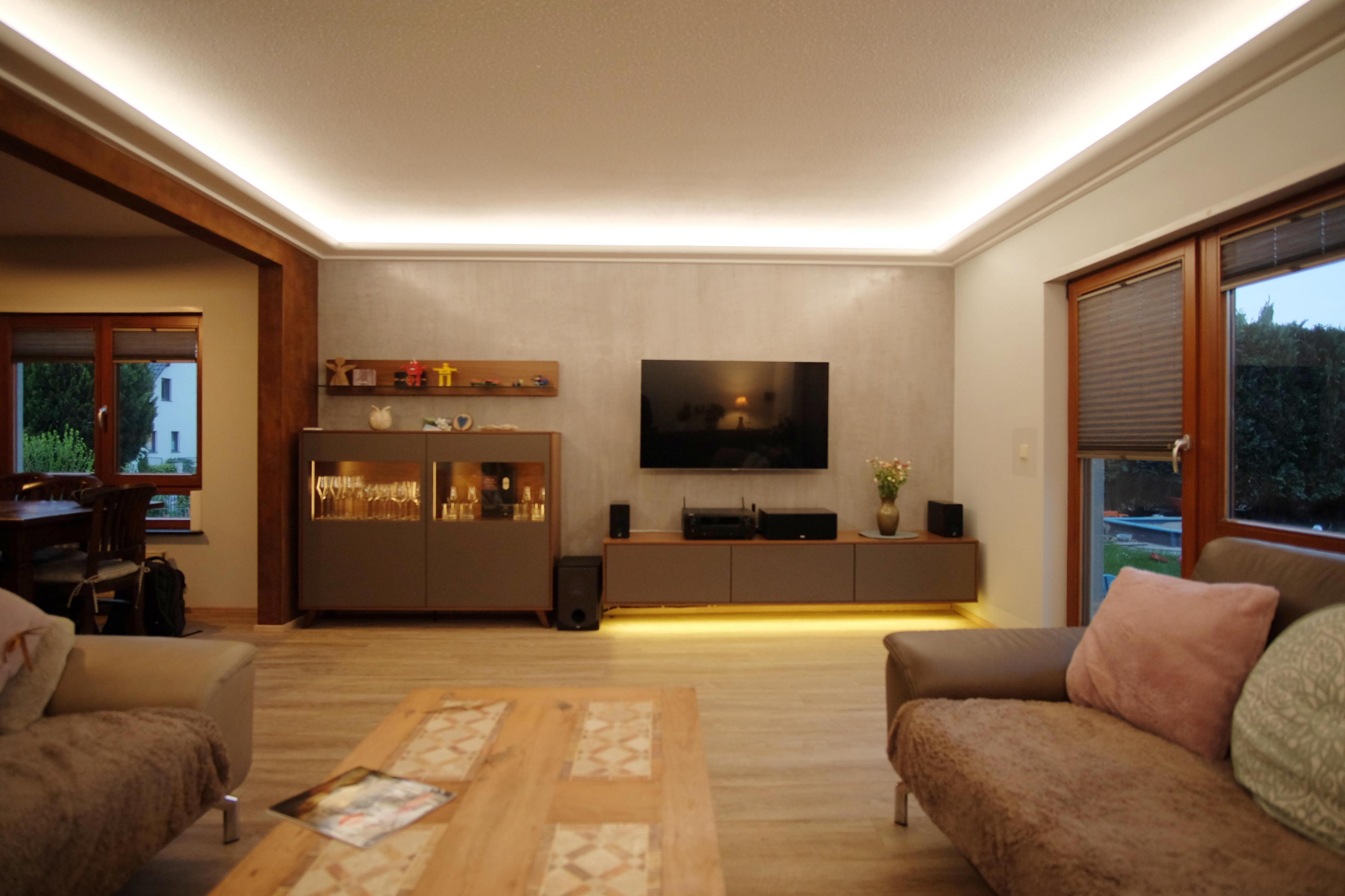 Beleuchtung Wohnzimmer Beratung – Caseconrad von Wohnzimmer Lampe Indirektes Licht Photo