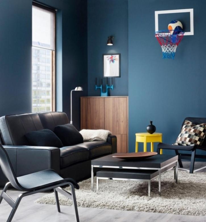 Beste Von Wohnzimmer Ideen Blau  Wohnzimmer Gestalten von Wohnzimmer Ideen Blau Photo