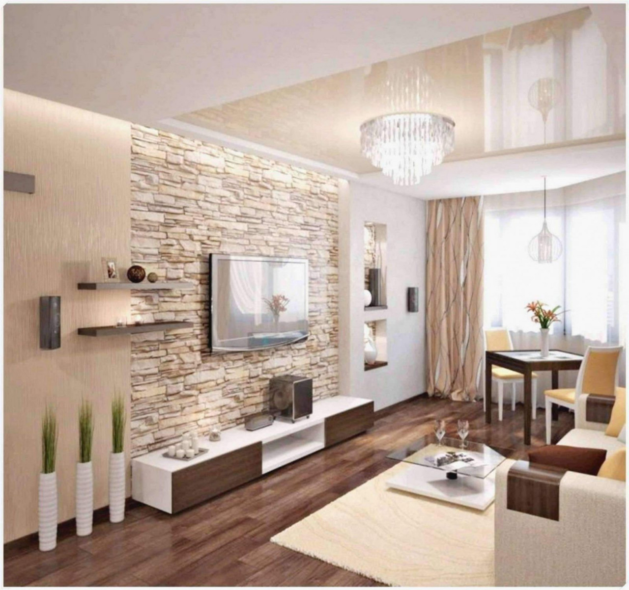 Beste Wohnzimmer Deko Wand Ideen von Deko Wand Wohnzimmer Photo