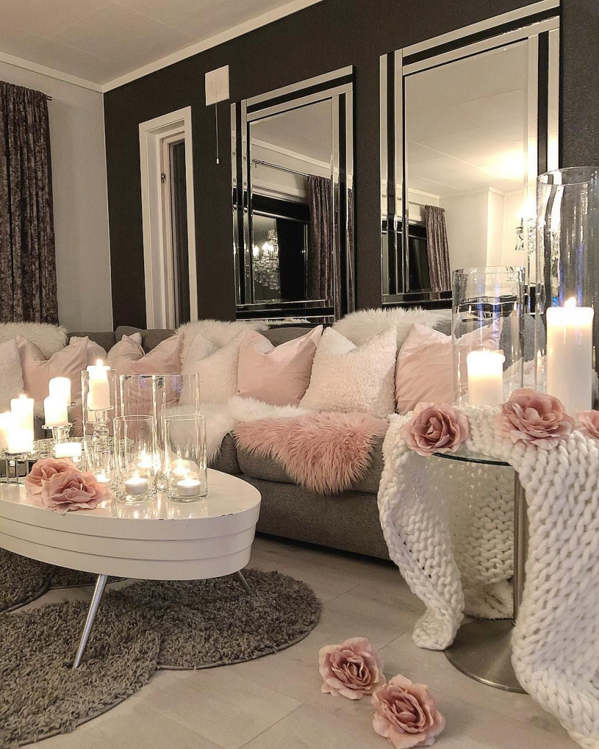 Besten Wohnzimmer Ideen  Living Room Decor Cozy Living von Deko Wohnzimmer Modern Weiß Photo