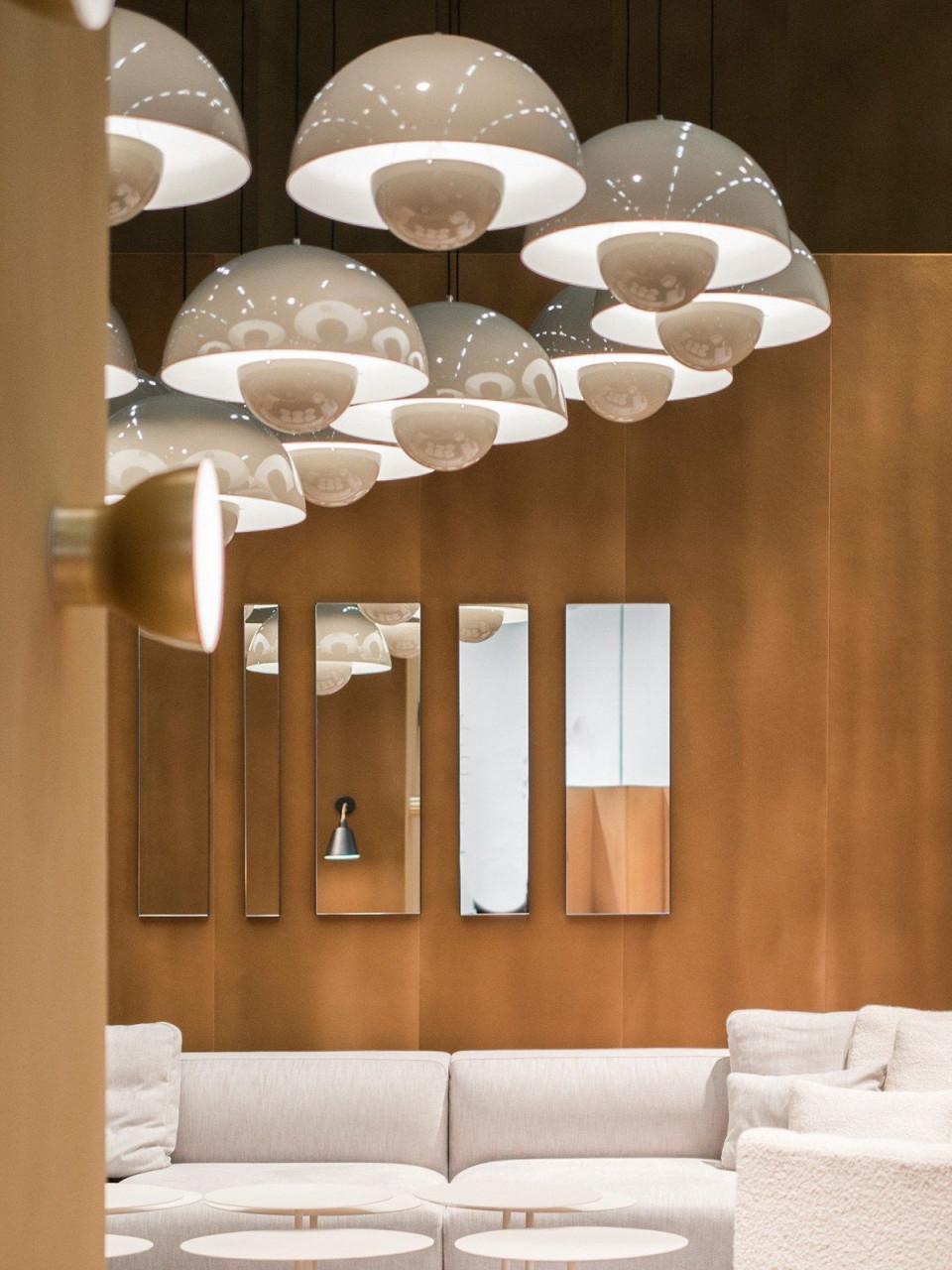Big Flowerpot Vp2  Designort  Design Lampen Design von Wohnzimmer Lampe Skandinavisch Photo