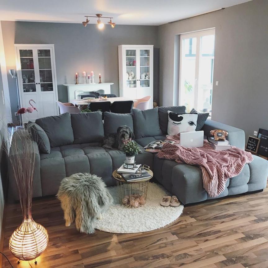 Big Sofa Kuschelige Wohnideen Bei Couch von Sofa Ideen Wohnzimmer Bild