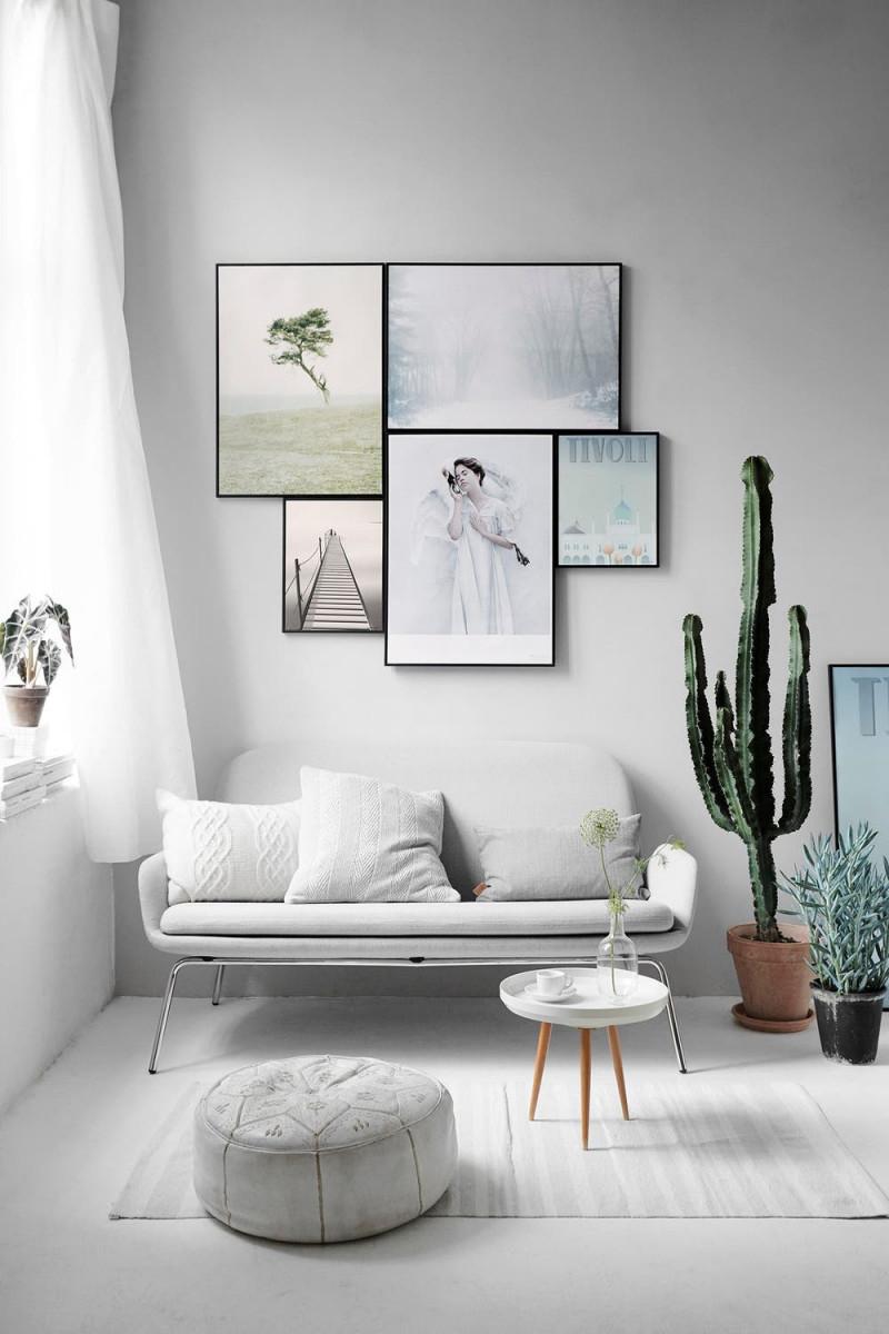 Bilder Aufhängen Tipps Und Inspirationen So Hängen Sie von Bilder Zum Aufhängen Im Wohnzimmer Bild