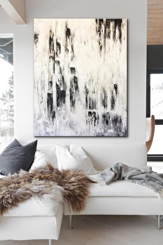 Bilder Moderne Kunst Wohnzimmer – Caseconrad von Kunst Bilder Wohnzimmer Bild