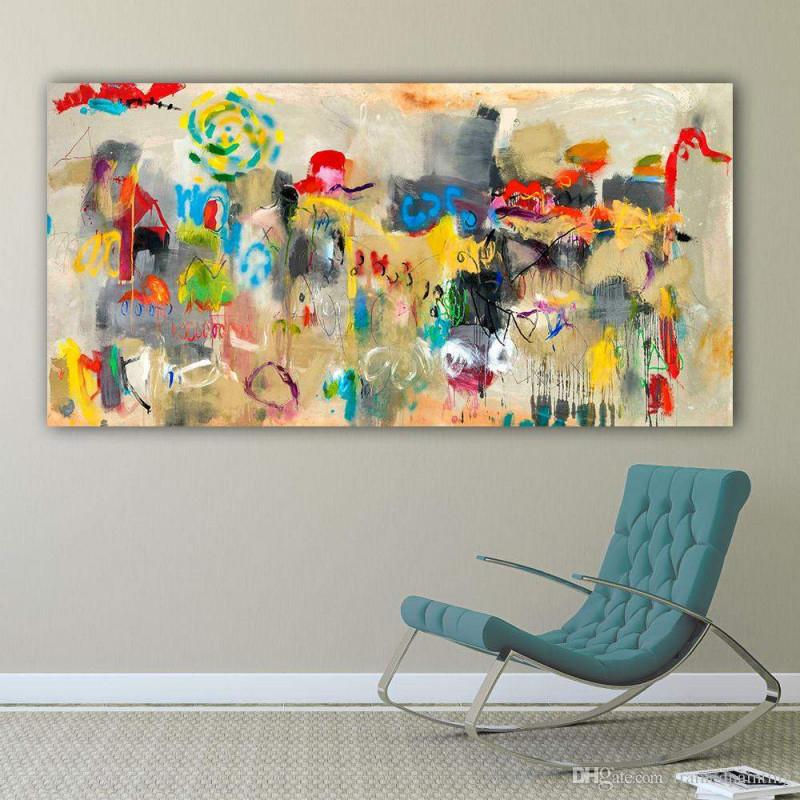 Bilder Wohnzimmer Abstrakt Reizend Großhandel Leinwand von Wohnzimmer Bilder Abstrakt Bild