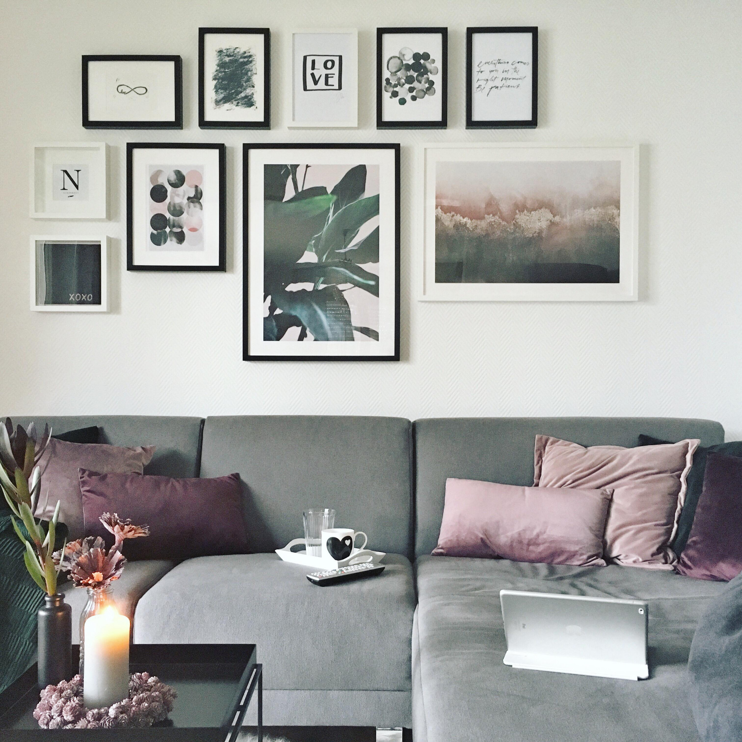 Bilderwand Wohnzimmer – Caseconrad von Bilderwand Gestalten Wohnzimmer Bild