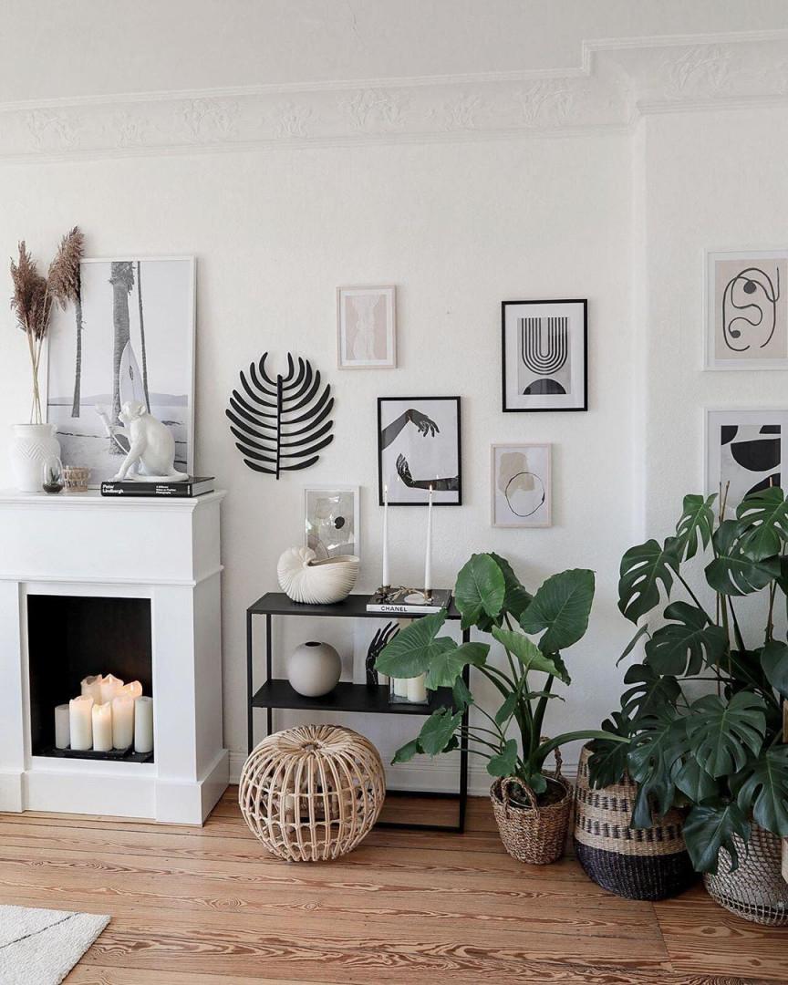 Bilderwandideen Inspiration Bei Couch von Bilderwand Ideen Wohnzimmer Bild
