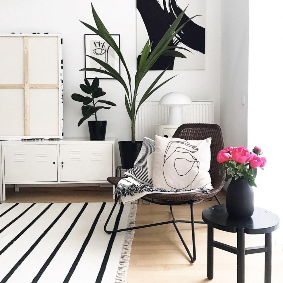 Black Is Beautiful  Schwarze Interior Accessoires von Schwarze Deko Wohnzimmer Bild