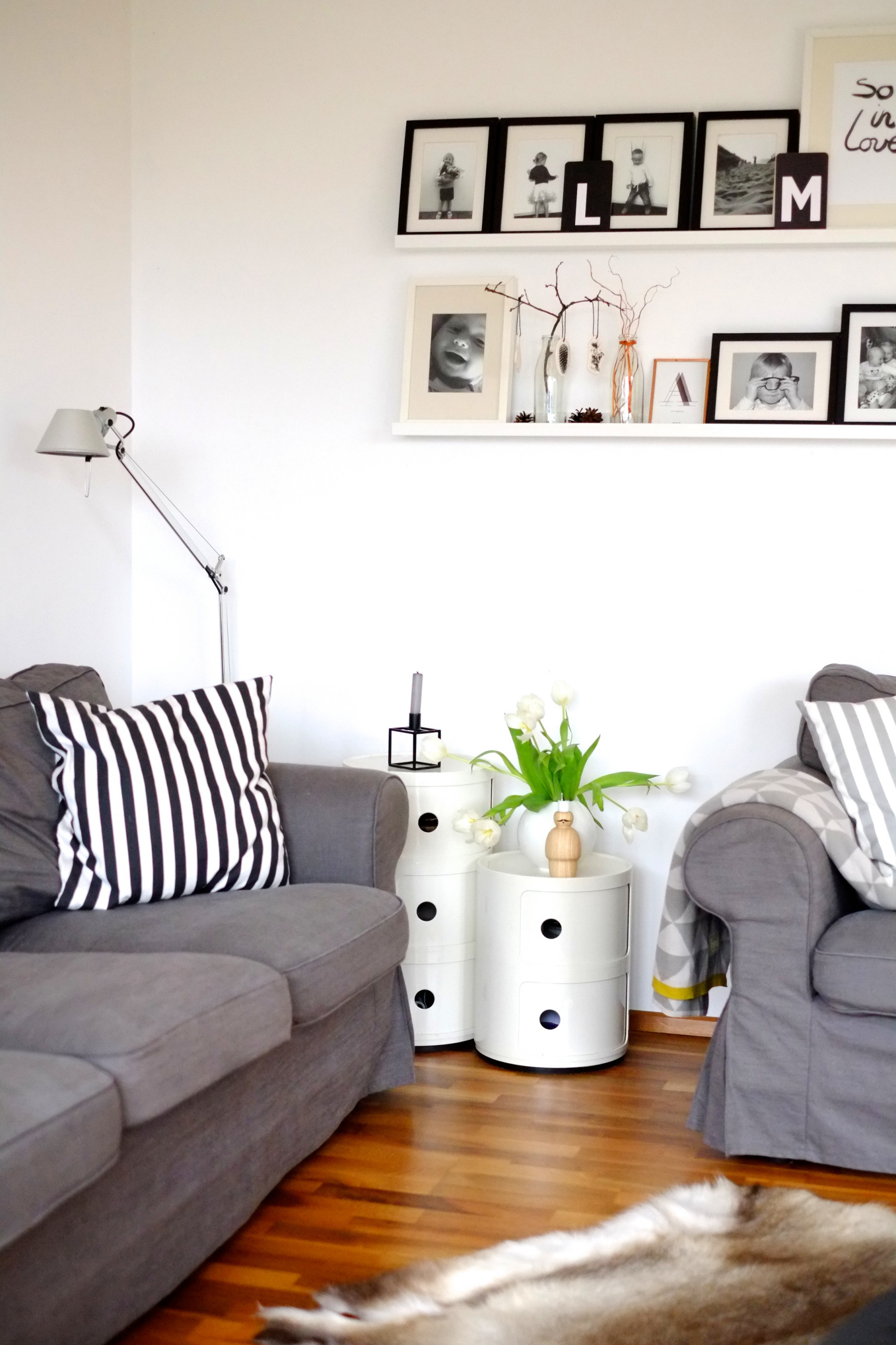 Black Loves White  Herr Und Frau Krauss  Shop Und Blog von Deko Schwarz Weiß Wohnzimmer Photo