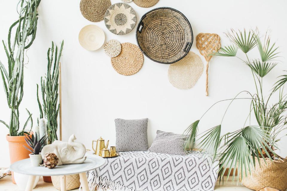 Boho Style Wohnen  10 Tipps Für Den Hippie Chic In Deiner von Wohnzimmer Ideen Boho Bild