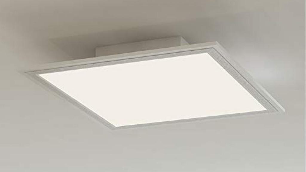 Briloner Leuchten  Led Deckenleuchtepanel Ledlampe von Wohnzimmer Lampe Weiß Bild