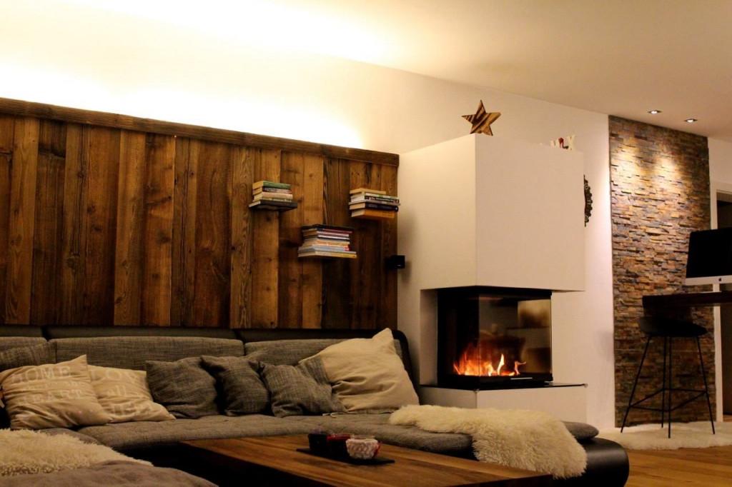 Bsholzdesign Gmbh  Altholz Wohnzimmer Rustikales von Wohnzimmer Rustikal Gestalten Bild