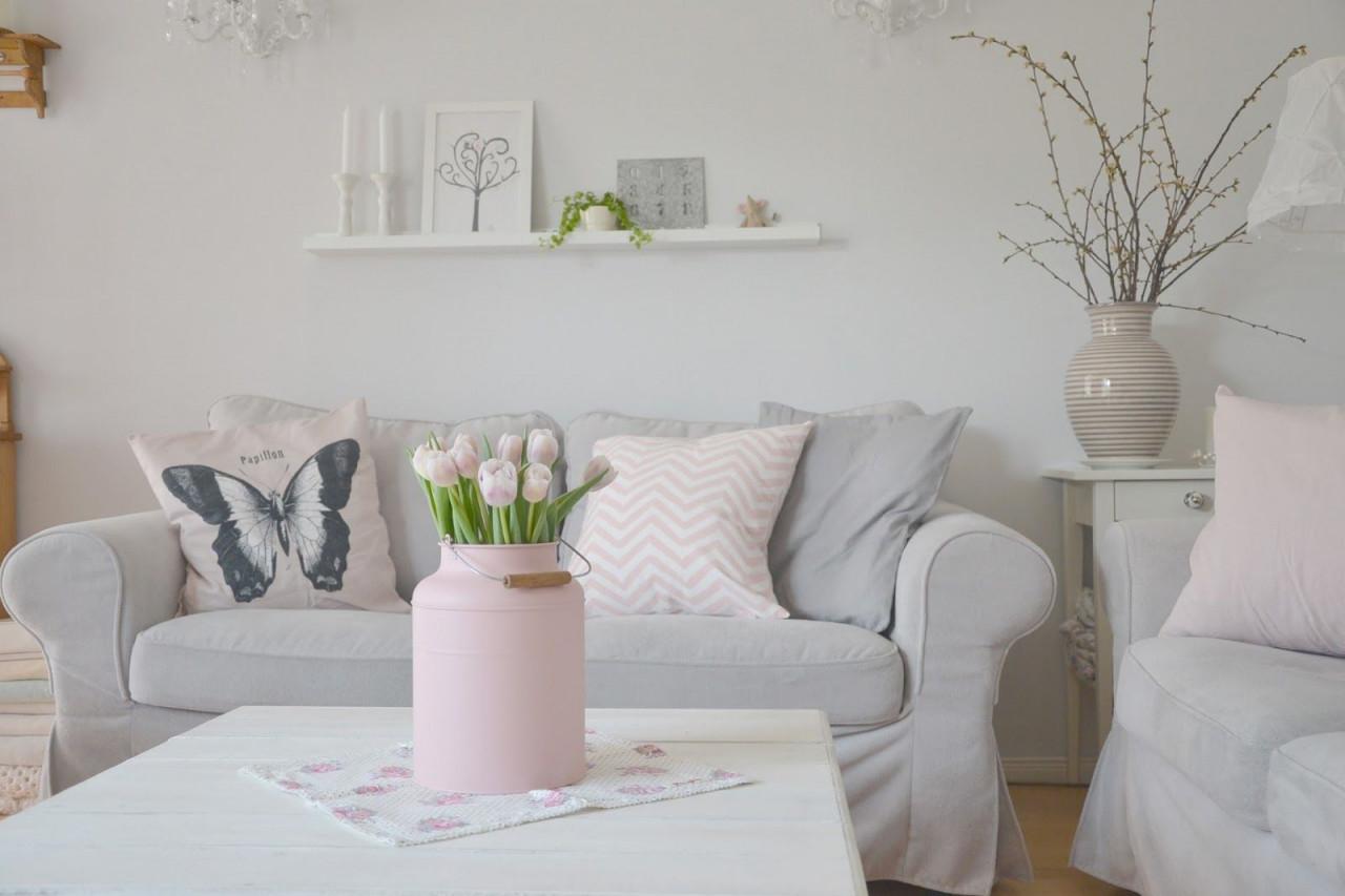 Btree  Wohnzimmer Grau Rosa Wohnzimmer von Rosa Deko Wohnzimmer Bild