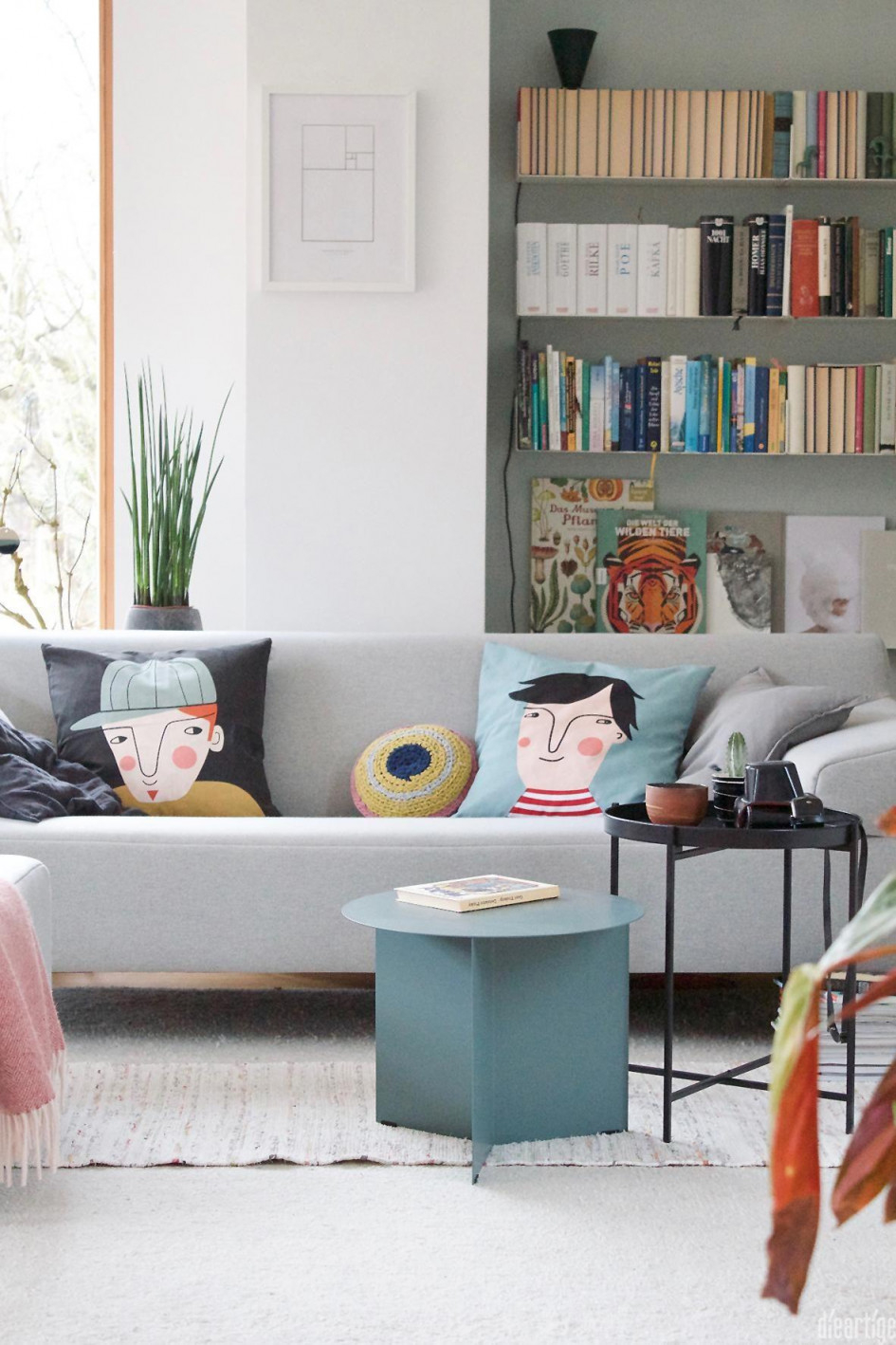 Bücherregal So Wird Es Zum Blickfang von Bücherregal Wohnzimmer Ideen Photo