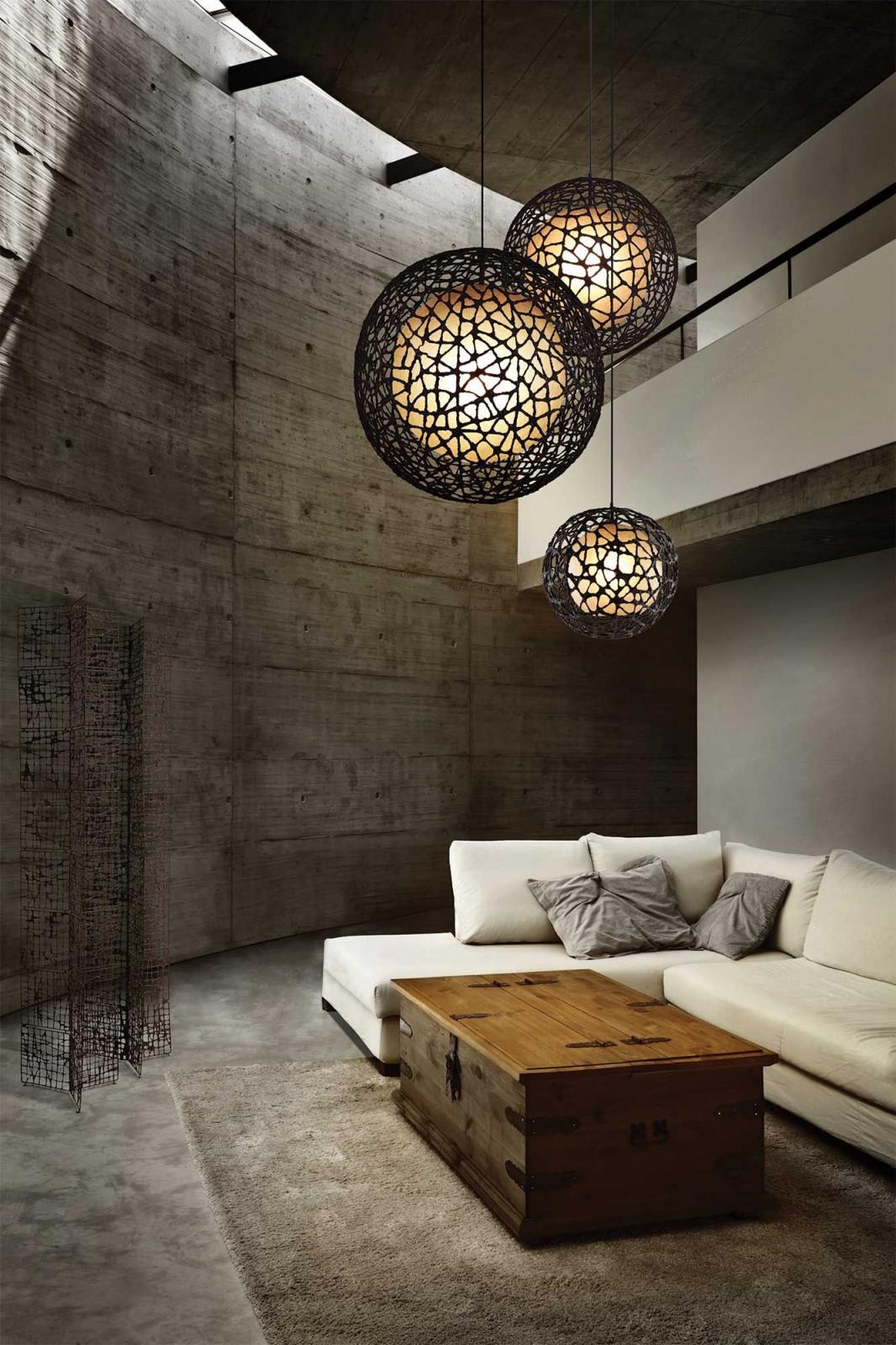 C U C Me Round Pendanthive  Lpcc1515  Beleuchtung von Große Lampe Wohnzimmer Photo