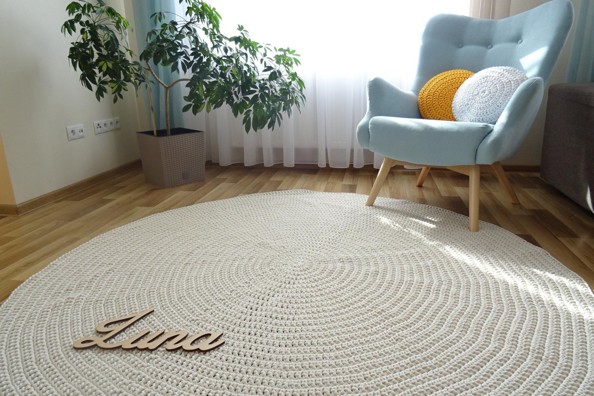 Carpets For Living Room Round Area Rugs Modern Rug Large von Wohnzimmer Runder Teppich Bild