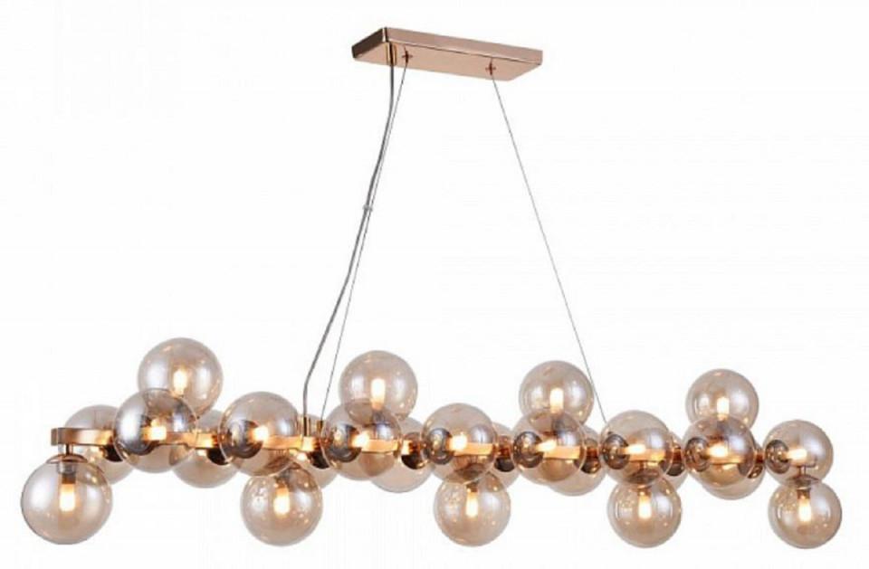 Casa Padrino Designer Hängeleuchte Gold 1235 X 238 X H 228 Cm  Moderne  Wohnzimmerlampe Mit Bernsteinfarbenem Glas von Wohnzimmer Lampe Silber Photo