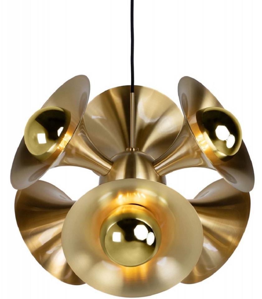 Casa Padrino Luxus Hängeleuchte Messingfarben 55 X 55 X H 53 Cm  Messing  Pendelleuchte  Wohnzimmer Lampe  Luxus Kollektion von Wohnzimmer Lampe Messing Photo