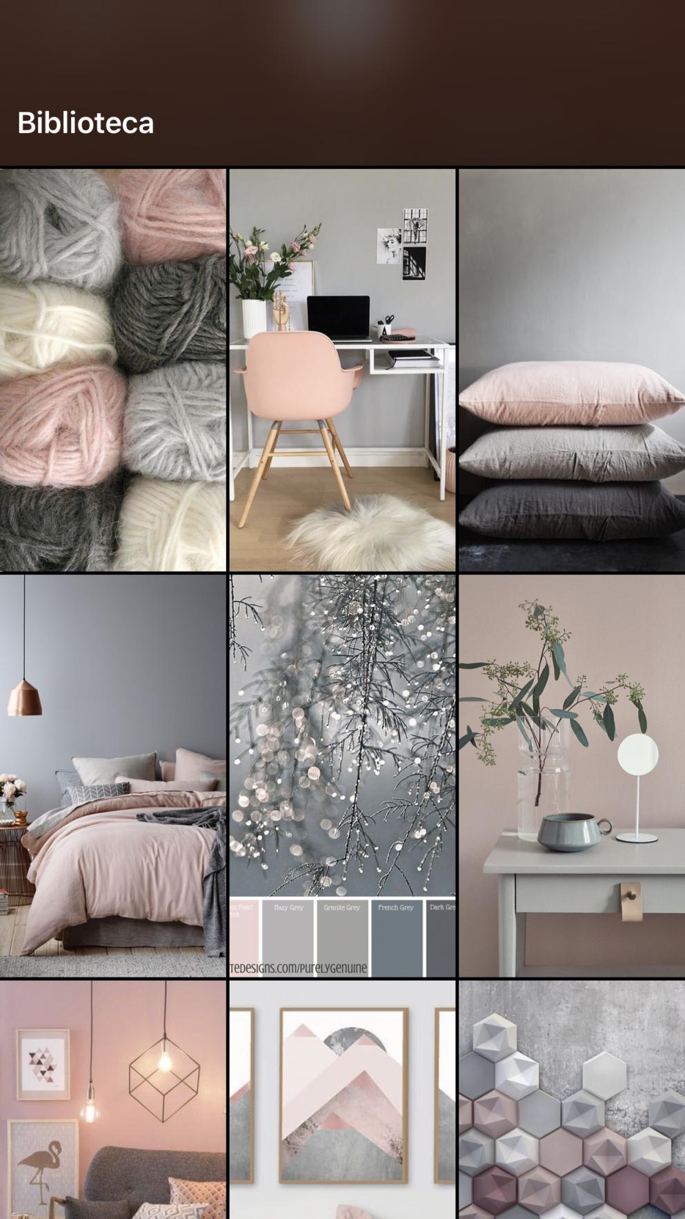 Cinza E Rosa  Grey  Pink (Mit Bildern)  Zimmer Einrichten von Wohnzimmer Deko Pink Photo