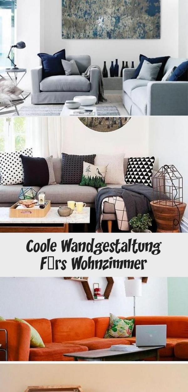 Coole Wandgestaltung Fürs Wohnzimmer  Interior Design Home von Coole Bilder Fürs Wohnzimmer Bild