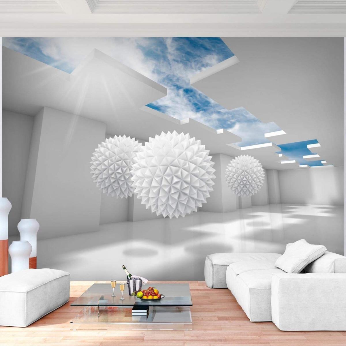 Изображение Дизайн Дома От Пользователя Nurila На Доске von Blaue Deko Wohnzimmer Photo