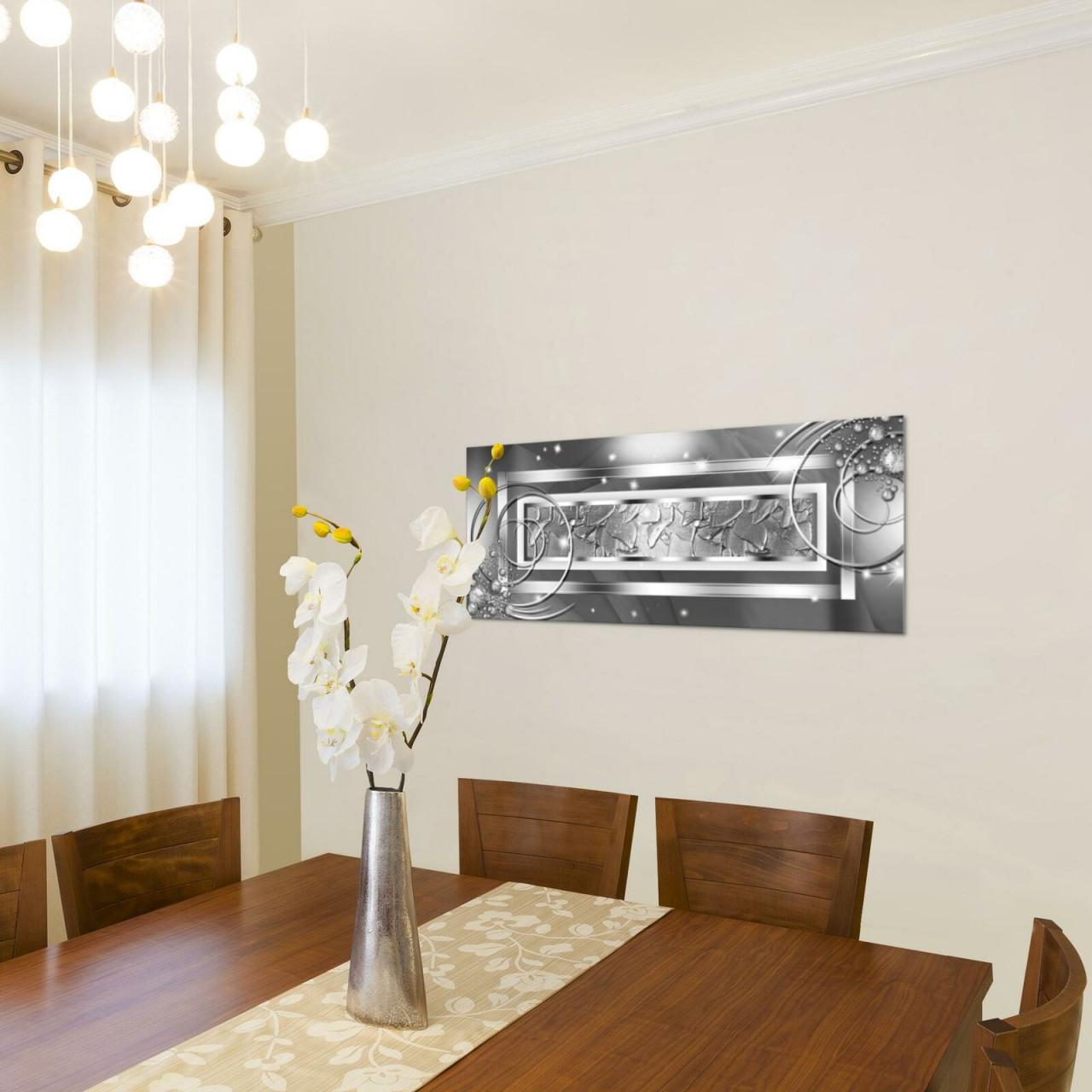 Картина Для Интерьера Wandbilder Xxl Abstrakt Wohnzimmer 100X40 Cm Modern  Bild Bilder Vlies Leinwand von Wohnzimmer Modern Bilder Bild