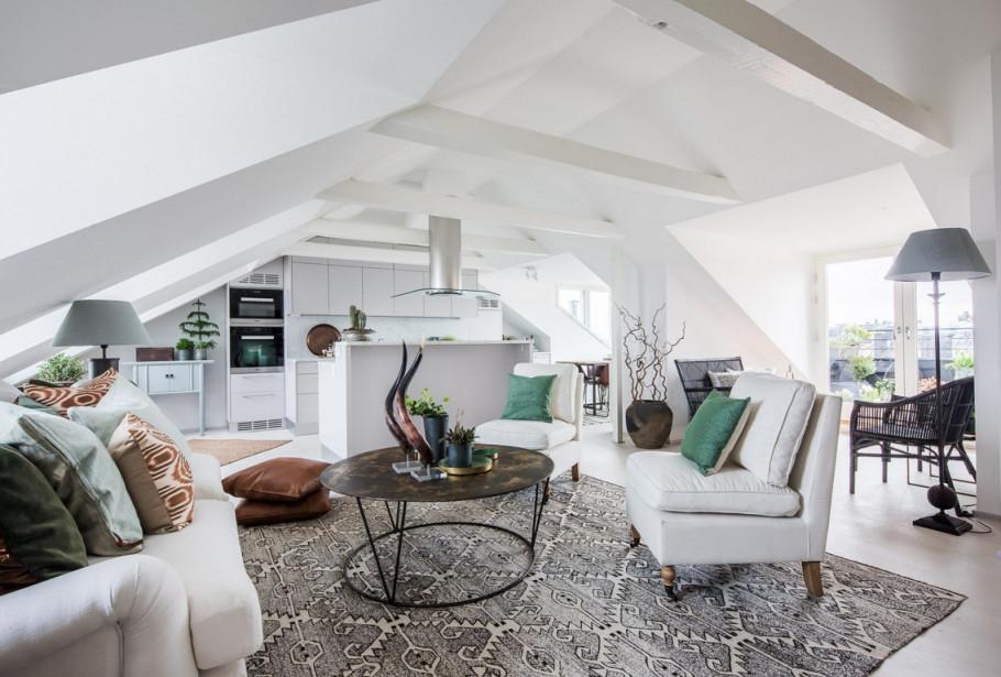 Dachgeschoss Ausbauen  Bemerkenswerte Tipps Und von Wohnzimmer Dachgeschoss Gestalten Photo