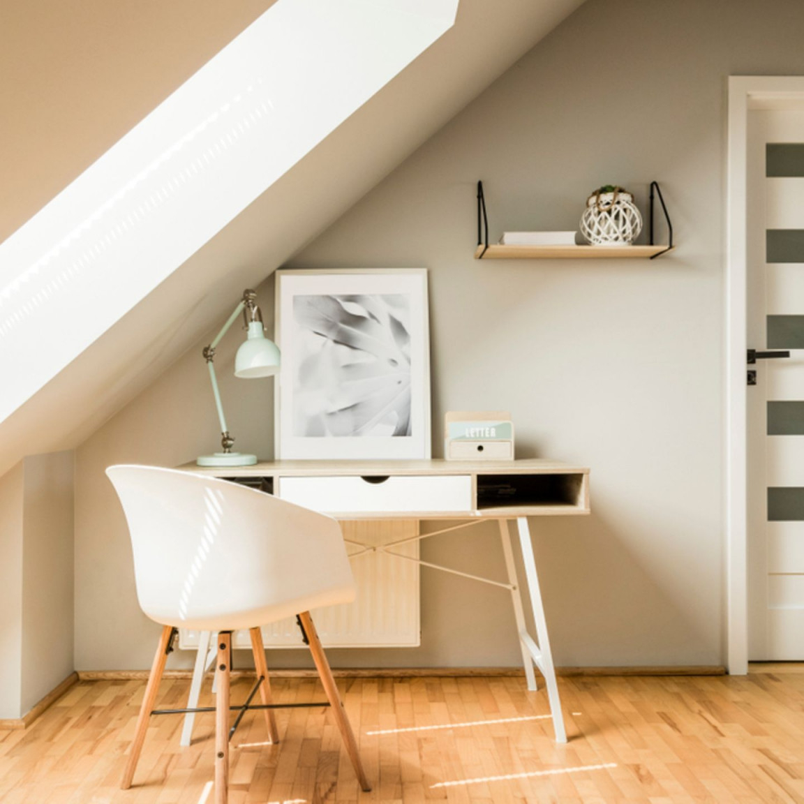 Dachschräge Einrichten  Die Schönsten Wohnideen  Brigitte von Wohnzimmer Dachschräge Gestalten Photo