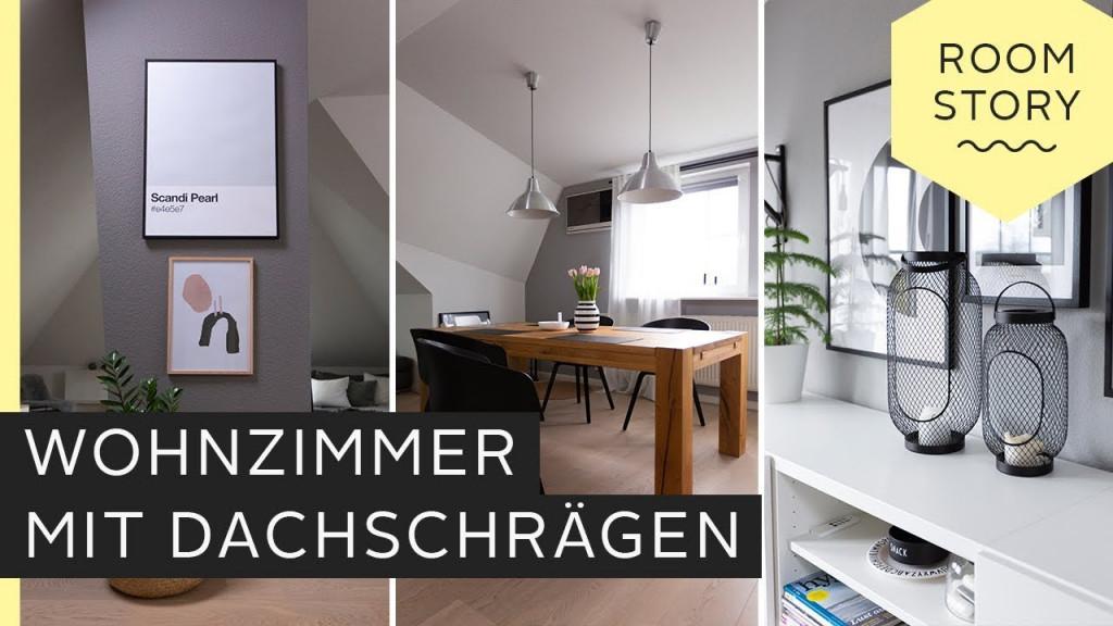 Dachschräge Einrichten  Stauraum Und Gestaltung  Otto von Wohnzimmer Dachschräge Gestalten Bild