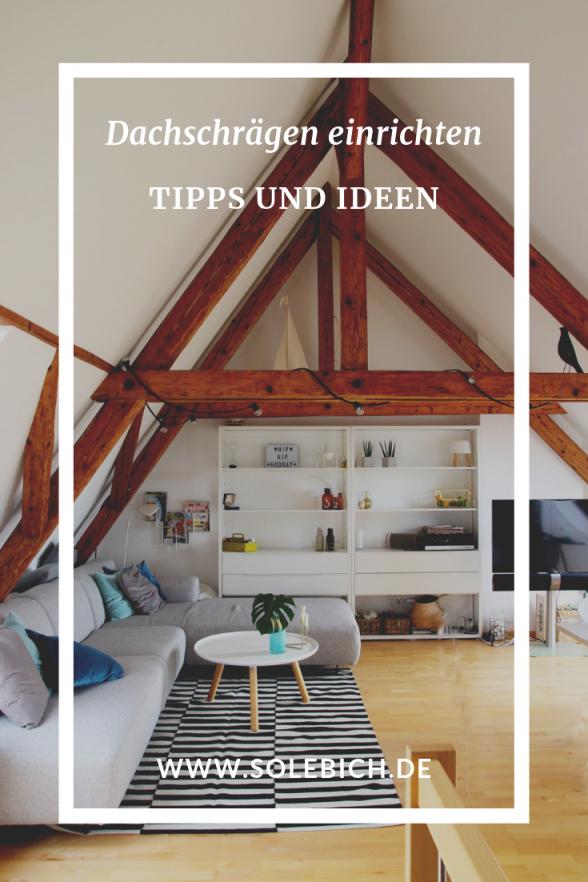 Dachschrägen Einrichten – Tipps Und Ideen  Dachschräge von Wohnzimmer Ideen Dachschräge Photo
