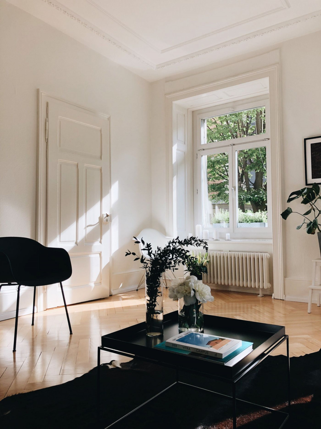 Das Kuhfell Als Dekoidee Und Teppich von Kuhfell Teppich Wohnzimmer Bild