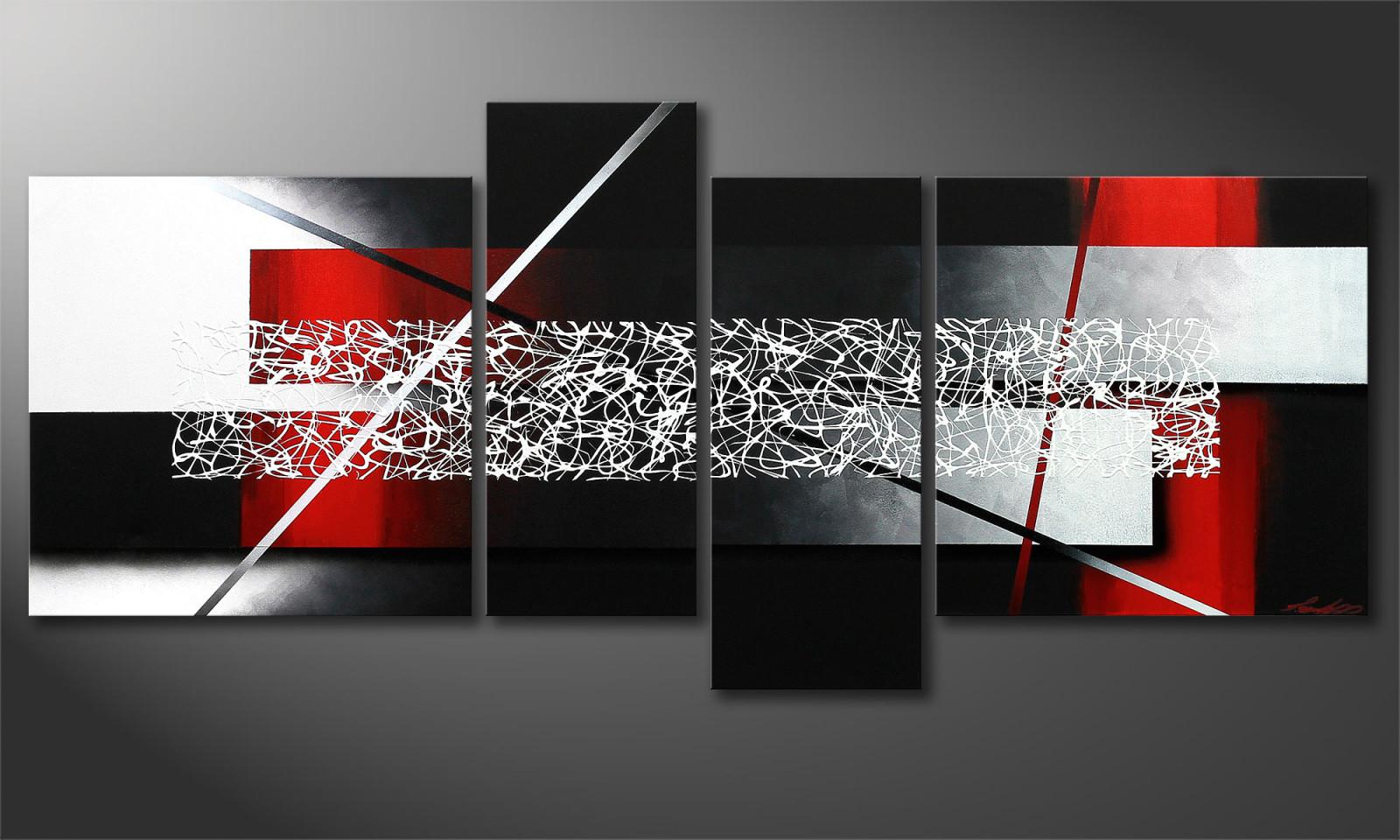 """Das Wandbild """"sudden Inspiration"""" 180X80X2Cm von Bilder Mehrteilig Wohnzimmer Bild"""