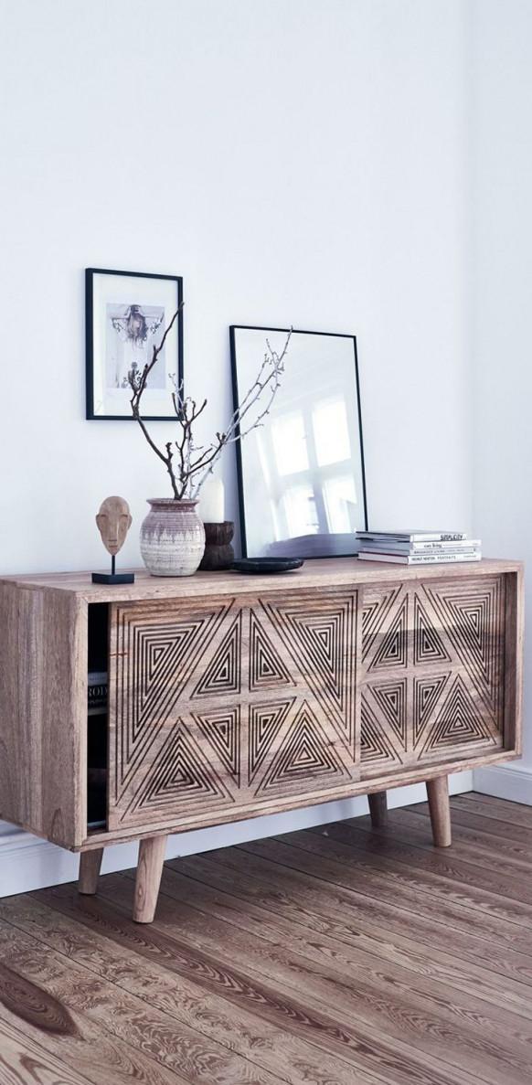 Das Wohnzimmer Einrichten Mit Stilvollen Bildern Toller von Deko Kommode Wohnzimmer Bild