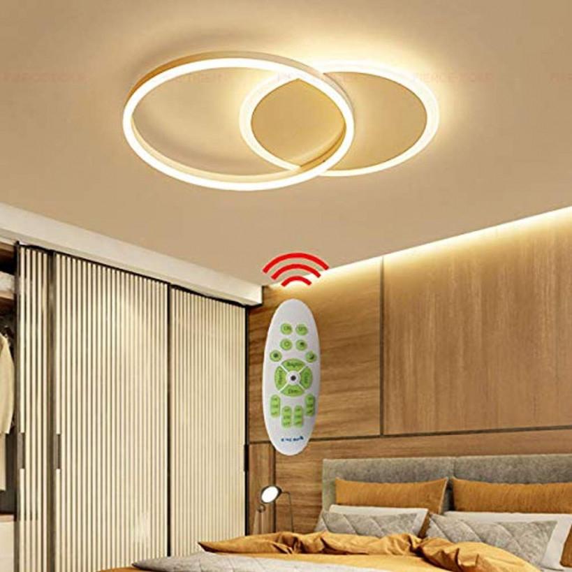 Decken Lampe Led Dimmbar Mit Fernbedienung Groß von Wohnzimmer Lampe Modern Groß Bild