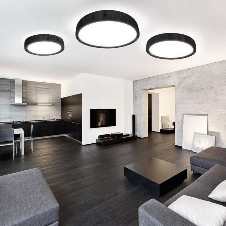 Deckenlampe Wohnzimmer Modern von Moderne Deckenlampe Wohnzimmer Bild
