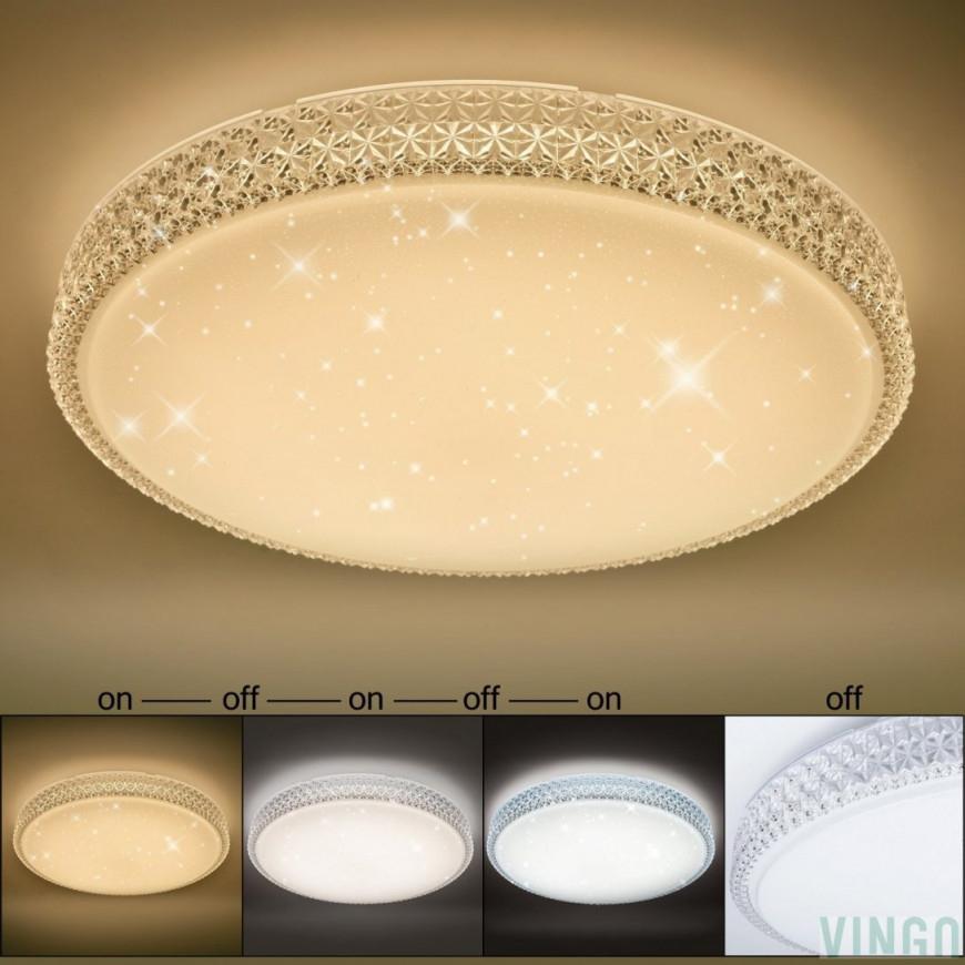 Deckenlampen  Kronleuchter Möbel  Wohnen 60W Led von Wohnzimmer Lampe Led Farbwechsel Photo