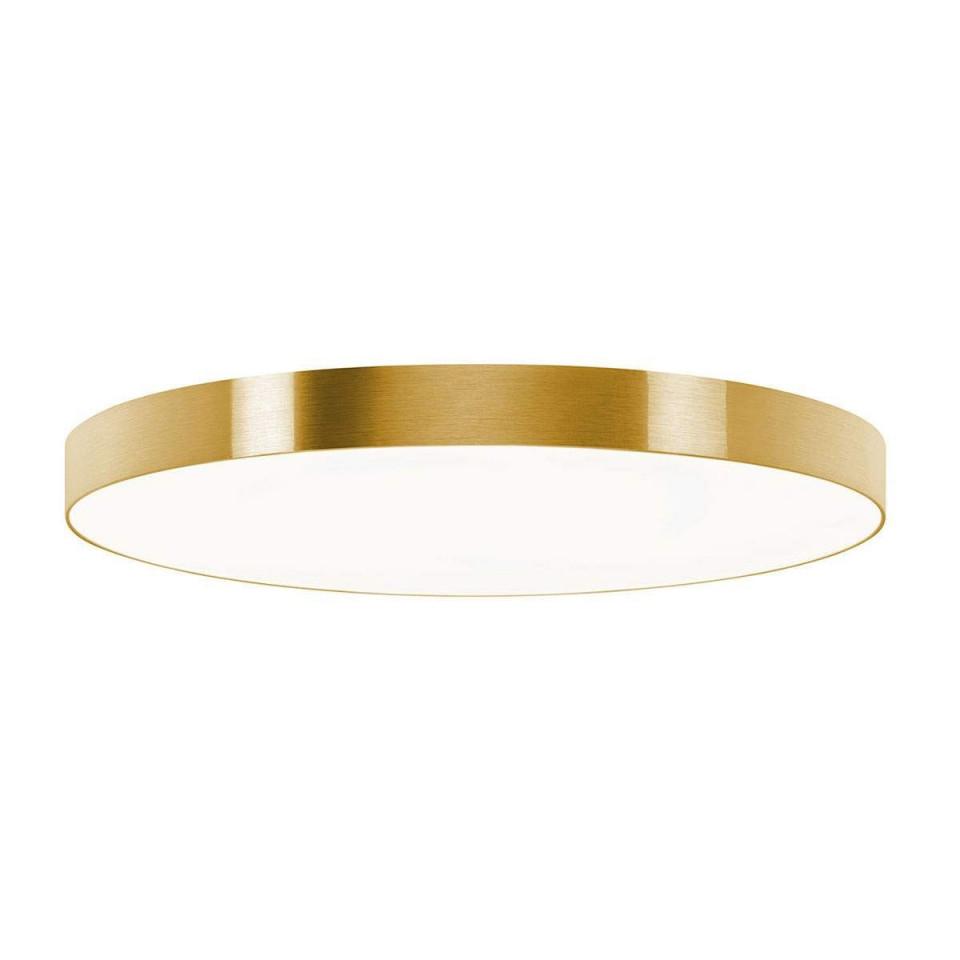 Deckenleuchte Aurelia Dimmbar Goldfarben 60 Cm Von Hufnagel von Deckenleuchte Wohnzimmer Design Bild