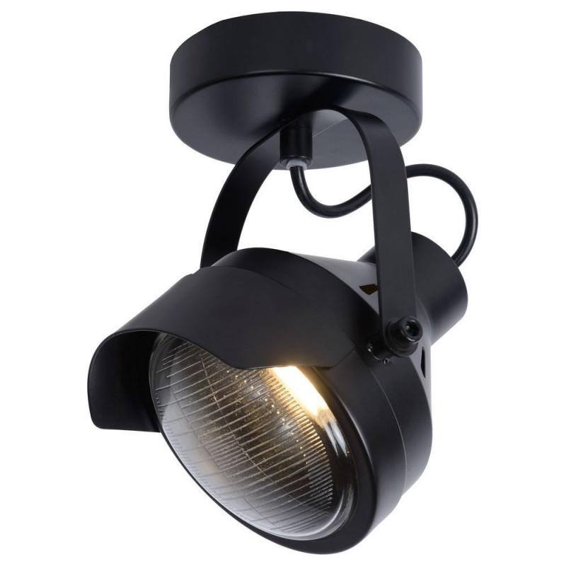 Deckenleuchte Cicleta In Schwarz Gu10 1Flammig  Lucide von Scheinwerfer Lampe Wohnzimmer Photo