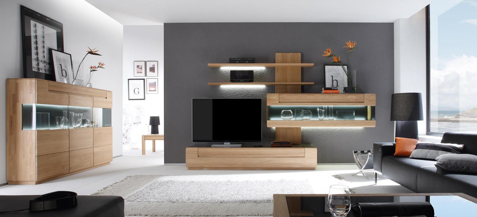 Decker Massivholzmöbel  Wohn  Esszimmer Küche Office von Moderne Holzmöbel Wohnzimmer Bild