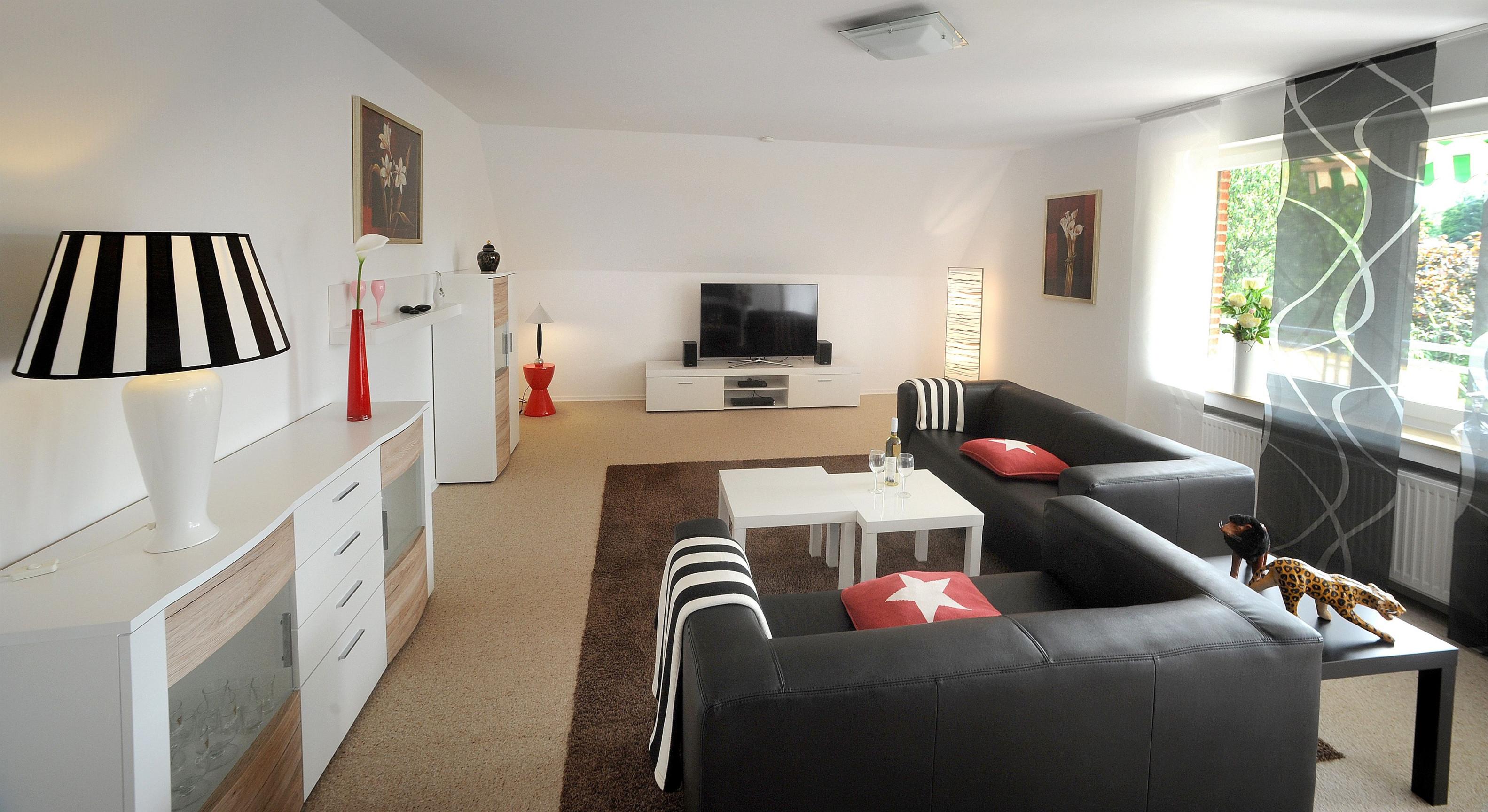 Deko Ideen Großes Wohnzimmer  Living Room Design Colour von Großes Wohnzimmer Ideen Bild