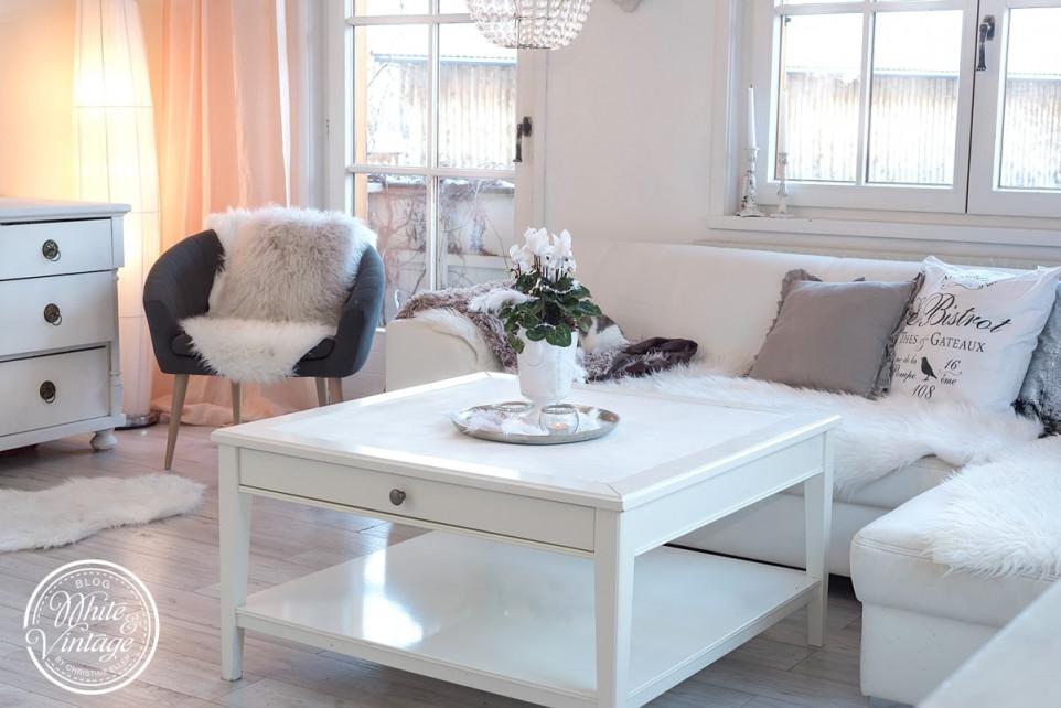 Deko Und Diyblog  Kreative Dekoideen Für Ein Schönes von Winter Deko Wohnzimmer Bild