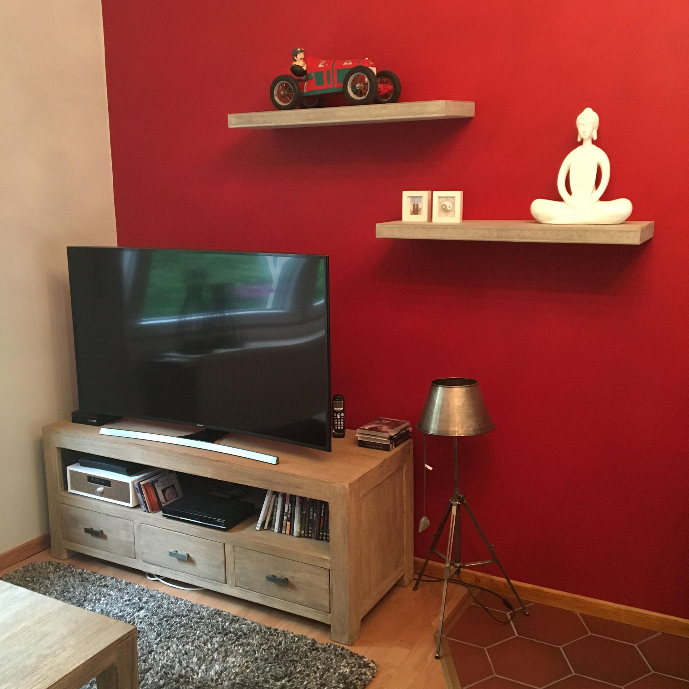 Deko Wohnzimmer Rot  Wohnung Dekoration Deko Und Wohnzimmer von Deko Rot Wohnzimmer Bild