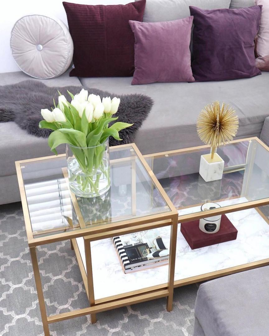Dekoobjekt Marball  Dekoration Wohnzimmer Dekoration Und von Goldene Deko Wohnzimmer Bild