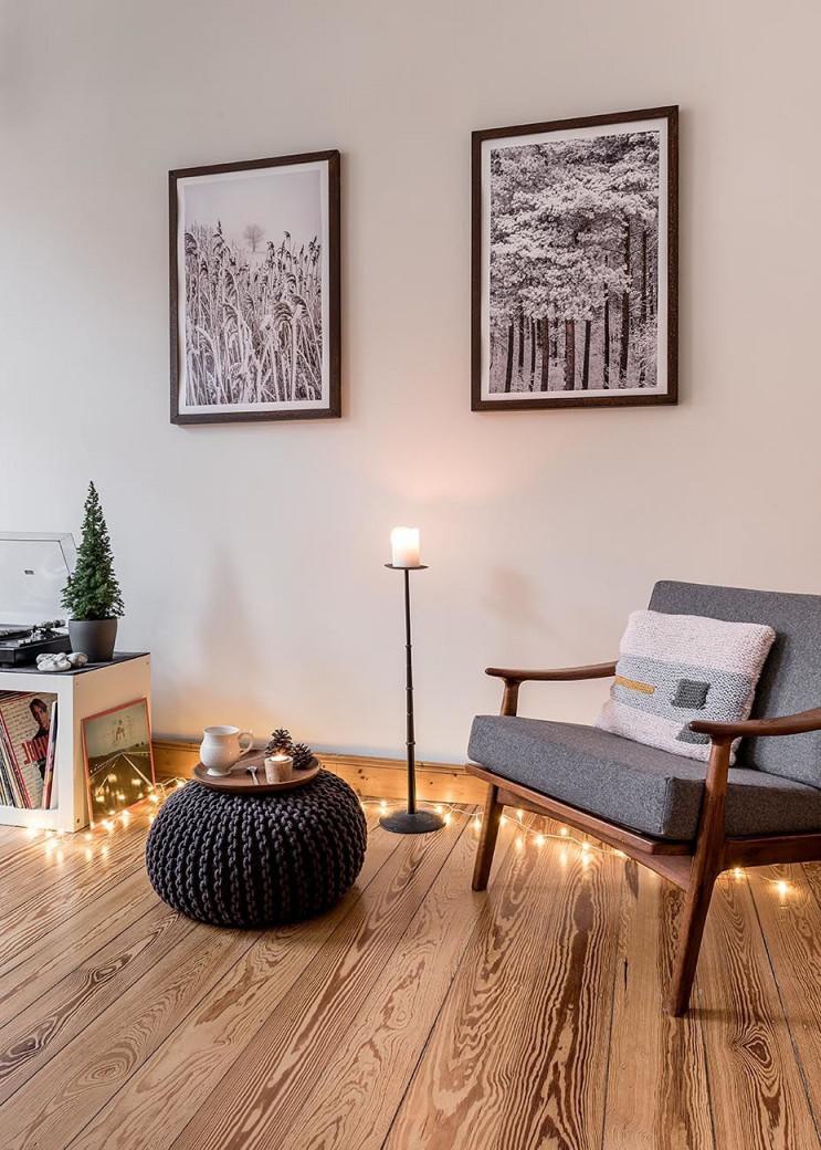 Dekorieren Mit Lichterketten Die Schönsten Ideen Aus Echten von Lichterkette Wohnzimmer Deko Bild