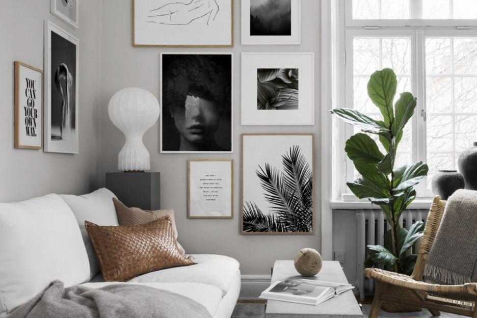 Dekotipps Wohnzimmer – Dekoriere Dein Wohnzimmer In Grau von Bilder Für Wohnzimmer Bild