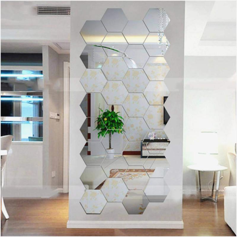 Dekowandspiegel Wohnzimmer Viele Kleine Spiegel von Spiegel Deko Wohnzimmer Bild