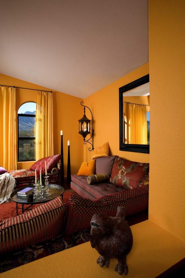 Der Marokkanische Stil  38 Orientalische Wohnräume von Wohnzimmer Orientalisch Einrichten Bild