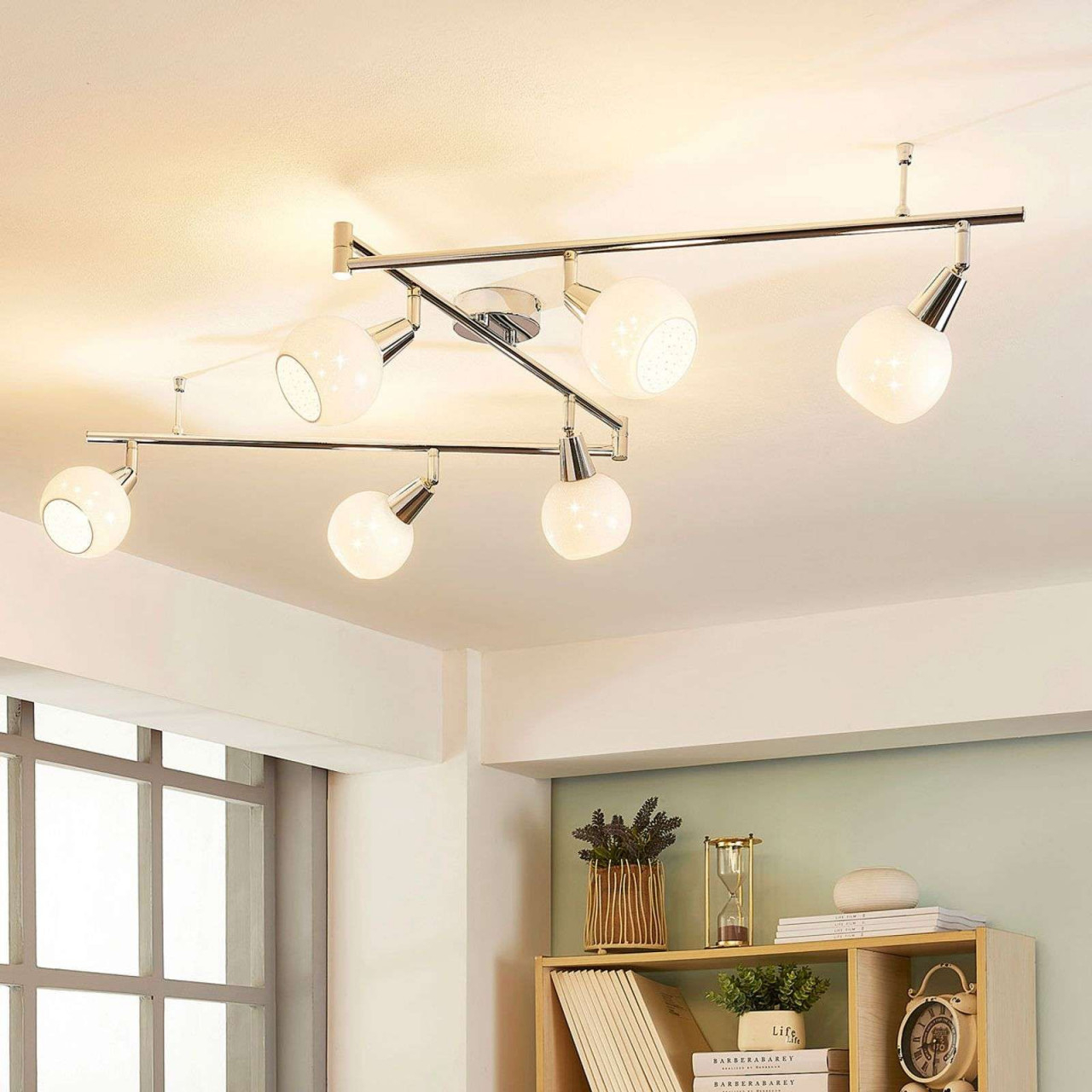 Designer Deckenleuchte Schlafzimmer  Deckenlampe Lang von Designer Deckenlampe Wohnzimmer Bild