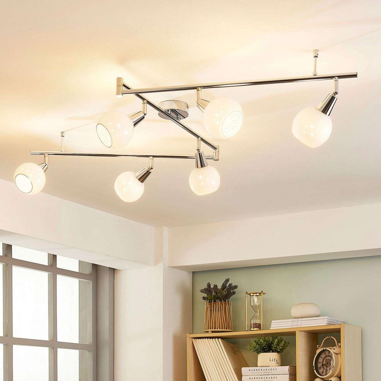 Designer Deckenleuchte Schlafzimmer  Deckenlampe Lang von Große Deckenlampe Wohnzimmer Photo