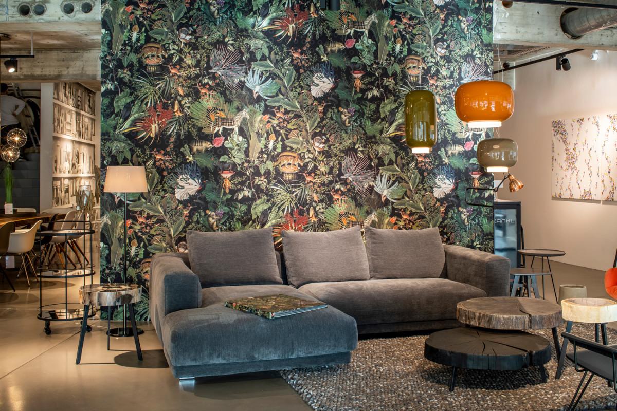 Designertapeten  Edle Räume von Edle Tapeten Wohnzimmer Photo